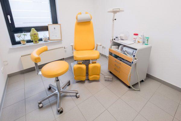 Behandlungsraum, hygiene, Profi, Fuss, Prodologie, behandlung